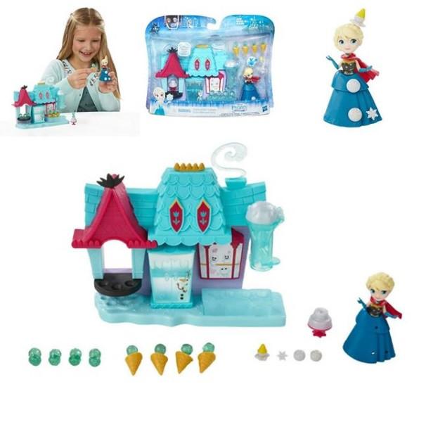 Игровой набор Hasbro Маленькое королевство disney Холодное сердце Эльза и магазин сладостей Эренделла