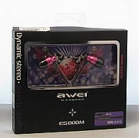 Навушники AWEI ES-800M pink