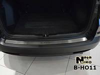 Накладка на бампер Premium Honda CR-V IV 2013-