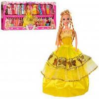 Kуклa c плaтьями 094A2 (в розовом платье)