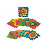 Коврик-мозаика, 10 дет.  EVA, M2737