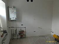 Встроенная кухня крашенный MDF , кухонный фартук 7