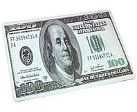 Коврик Office прорезиненый 100 Dollars 280х200 мм