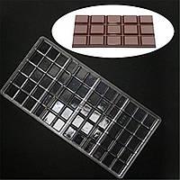 "Молд поликорбонат для шоколада ""Шоколадка"", фото 1"