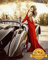 Картины по номерам 40×50 см. Babylon Premium Грация Фотохудожник Ирина Джуль, фото 1