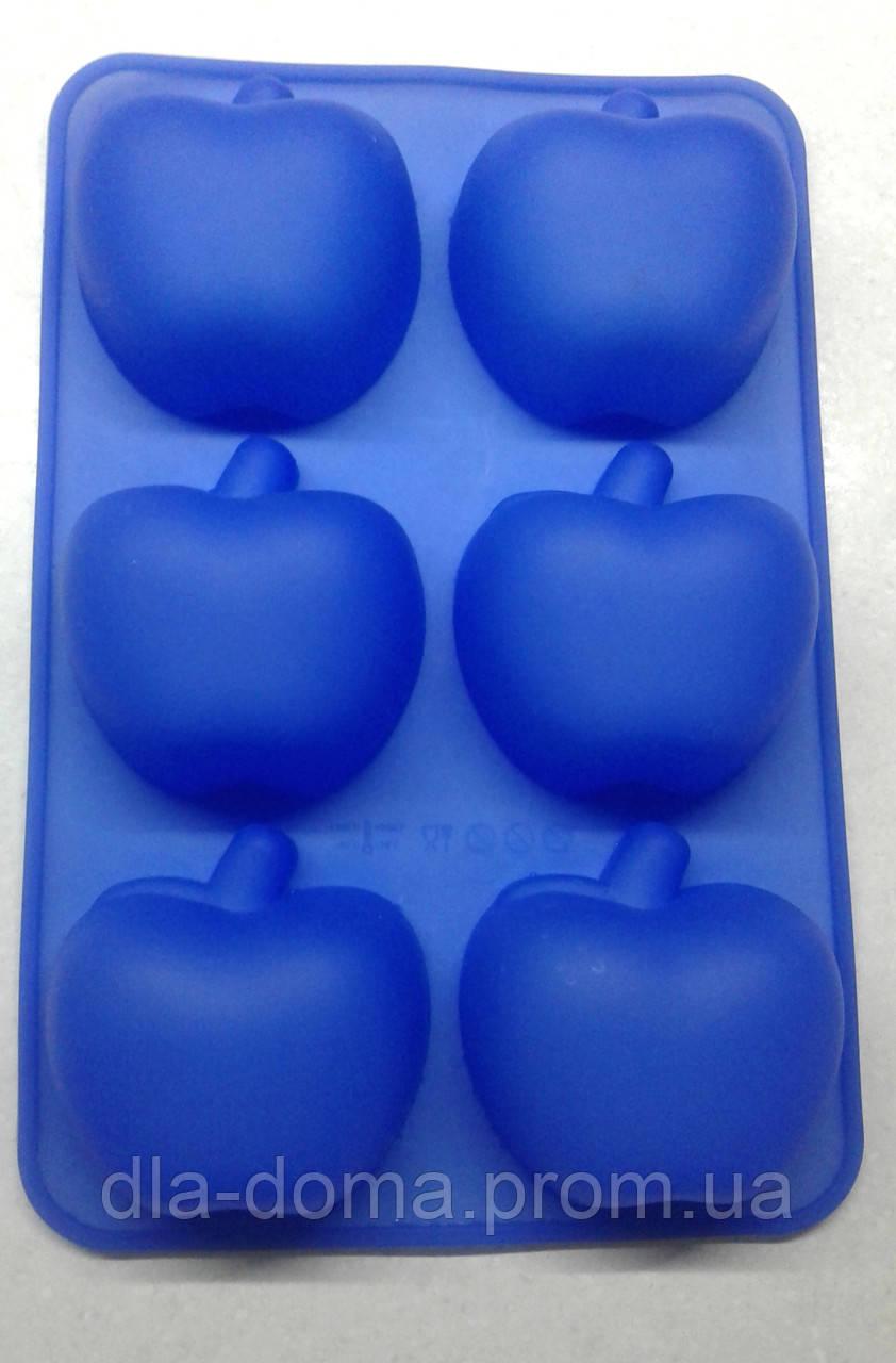Силиконовая форма яблочки