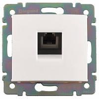 Розетка LEGRAND Розетка телефонная Valena RJ11 4 контакта 1 коннектор белая