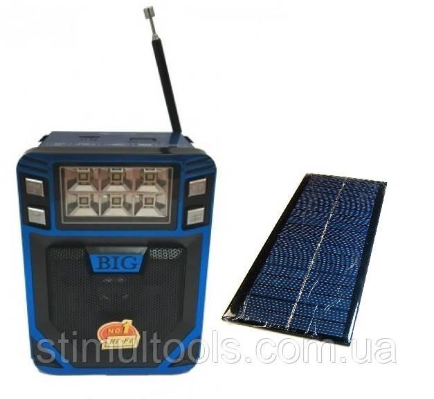 Колонка на солнечной батарее с фонариком Golon RX8200TS