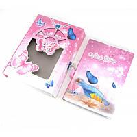 Блокнот с замком для девочек розовый (2 ключа) (20,5х14,5х3,5 см)