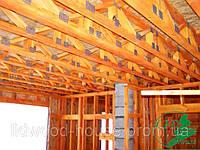 Изготовление и монтаж деревянных ферм на МЗП (по технологии MiTek)
