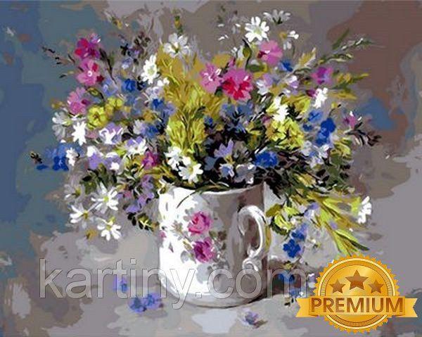 Картины по номерам 40×50 см. Babylon Premium Подарок для любимой Художник Anne Cotterill