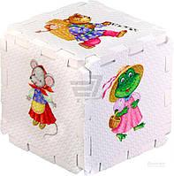 Пазлы «Сказочные животные. Кубик EVA» 4607058376581