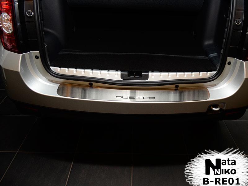 Накладка на бампер Premium Renault DUSTER/FL 2010-/2013-