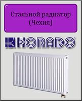 Стальной радиатор KORADO 22 тип 500х1400 (нижнее подключение)