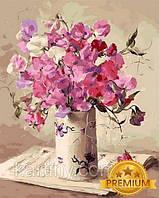 Картины по номерам 40×50 см. Babylon Premium Музыка цветов Художник Анне Коттерил, фото 1