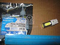 Лампа LED б/ц  двухконтактная  габарит, стоп T20 -7440 (4SMD) Mega-LED W3x16q 12V WHITE  tmp-05T20-12V