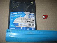 Лампа LED панель приборов, подсветки кнопок T5B8,5d-02 (1SMD) W1.2W  B8.5d  красная 12V  tmp-36T5-12V