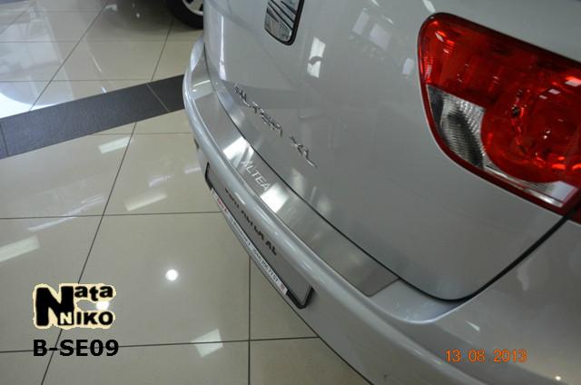 Накладка на бампер Premium Seat Altea XL/FREETRAСK 2007-
