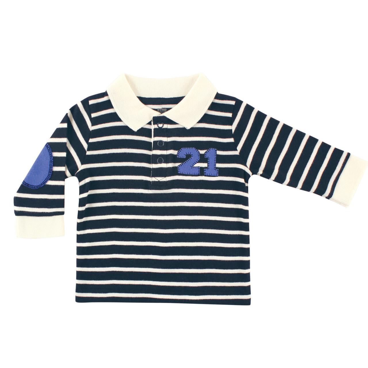 Кофта-поло для мальчика Hudson Baby (США), 6-9 мес.
