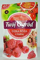 Чай фруктовый пакетированный Twoi Ogrod шиповник с малиной (40штх2г) Польша