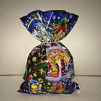 Сладкие Новогодние подарки в пакете, 605 г