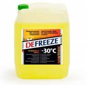 Незамерзающая жидкость для систем отопления DEFREEZE -30 (Дефриз), канистра 10л