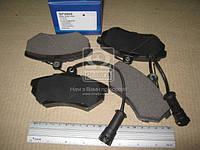 Колодка тормозная CHERY AMULET (производитель SANGSIN) SP2005
