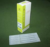Иглы для акупунктуры, рефлексотерапии 0,35*60 мм 100шт. ZHONGYAN TAINE