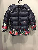 Детская зимняя куртка для девочки 30/36 мес