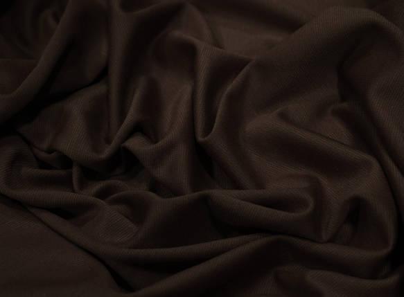 Французский трикотаж шоколад, фото 2