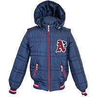 Демисезонная куртка — жилетка для мальчика