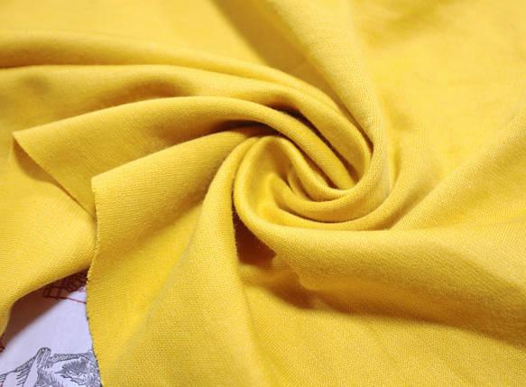 Французский трикотаж желтый, фото 2