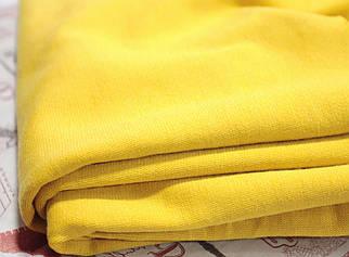 Французький трикотаж жовтий
