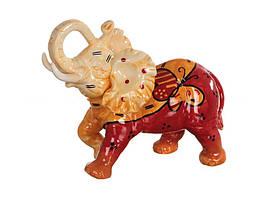 Статуэтка Слон 18 см керамика