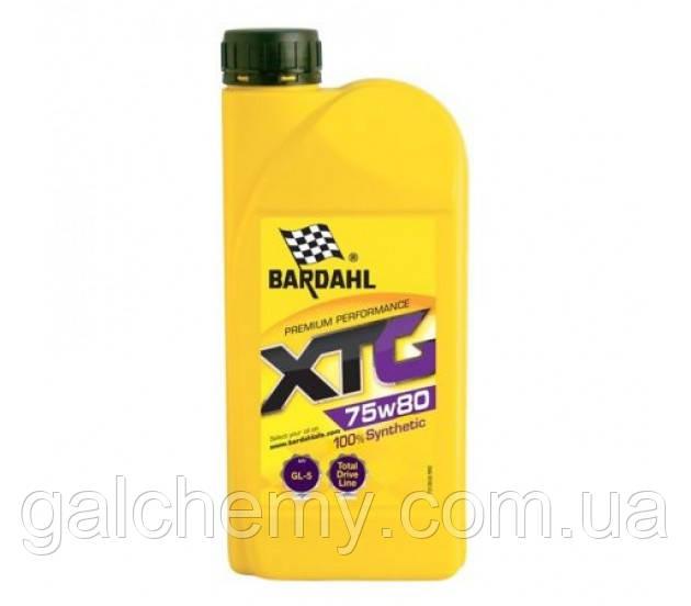 Мастило трансмісійне Bardahl XTG 75W80 (1 л) (36371)