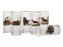 Набор стаканов Nb Art Охота 6 штук 615-464