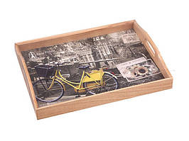 Поднос Lefard Велосипед с ручками 30х41х6 см 259-144