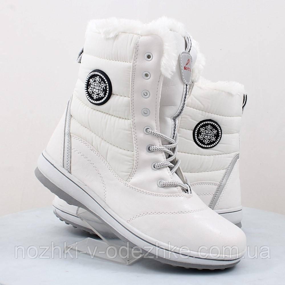 f16286103 Подростковые зимние высокие белые ботинки с мехом на девочку - Интернет  магазин