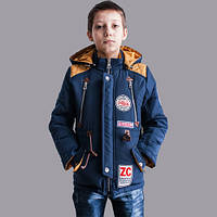 Весенняя куртка на мальчика на синтепоне