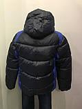 Зимняя куртка для мальчика 110,116 см, фото 4