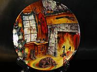 Декоративная тарелка Lefard У камина 15 см 451-142