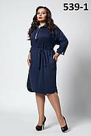 Платье для  полных красивое, модное, нарядное  Алексия   размеров 52, 54, 56, 58,60 разных цветов   ,   купить
