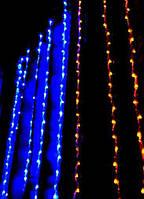 Двухцветная светодиодная гирлянда 320 Led
