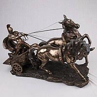 Статуэтка Veronese Римский воин на колеснице 65 см 72706