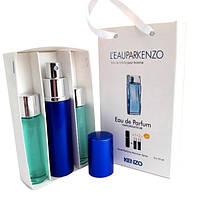 Набор с феромонами - Kenzo L'eau par Kenzo pour Homme (3×15 ml)
