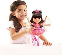 Набор Дора (Даша) балерина (Dora & Friends, Sparkle & Spin Ballerina Dora), Fisher Price Nickelodeon