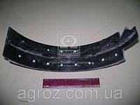 Колодка тормозная ЗИЛ 5301 задняя длинная клепанная 5301-3502092