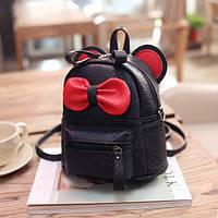 Маленький рюкзак детский Микки черный