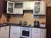 Кухня угловая MDF пленочный под заказ 1