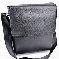 Мужская кожаная сумка 1279 Black.Купить сумки оптом и в розницу дёшево в  Украине b0f29da1d09